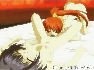 fiery redheaded hentai