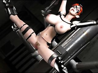 red boobed princess bondage